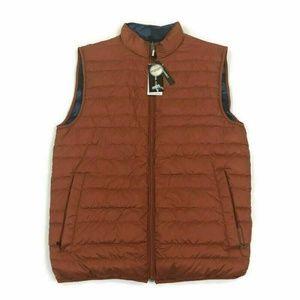 Michael Kors Mens Vest Packable Reverse Camo Small
